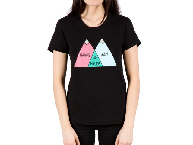 POLER Venn T-Shirt Women black